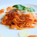 395スパイストウキョウ - 3種類のトマトのタリアテッレ パルミジャーノチーズ添え