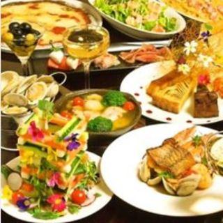 イタリアンあり、郷土料理あり。自分「らしく」楽しめます