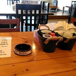 理尾レストラン - 店内。