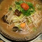 越後秘蔵麺 無尽蔵  - 野菜辛味噌ラーメン