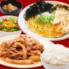豚生姜定食 ラーメンセット