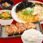 特製餃子定食 ラーメンセット