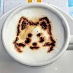 アニメイトカフェ - 期間限定・大吉カプチーノ(アニメイトカフェ池袋店)