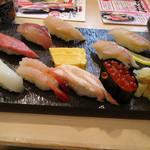 金沢まいもん寿司 - 金沢まいもん握り