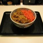 吉野家 - 紅生姜も美味しいですよね~。