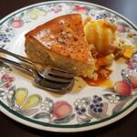 64724921 - 友人が注文したチーズケーキ