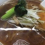 青龍 - 醤油スープソバ