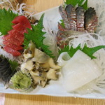海幸 - 料理写真:刺身5品盛り(1580円)