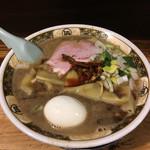 すごい煮干ラーメン凪 - 味玉煮干ラーメン