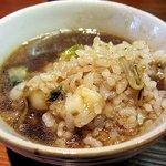 神戸ちぇりー亭 - スープをかけて(゚д゚)ウマー