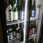 こふく - ドリンク写真:冷蔵庫