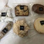 messo - ピーナツクッキー、フルーツパウンド・ジンジャーフィナンシェ・黒糖のショートブレッド・クロッカン・レモンサブレ