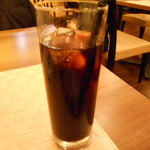 神田小川町 幻のイタリアン カンティーニ - アイスコーヒー