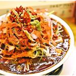 辛っとろ麻婆麺 あかずきん - 超激辛 辛っとろ麻婆麺~あかずきん~ 1000円 確かに辛い!確かにシビレル!しかし…美味い♪