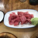 すき焼・鍋物 なべや - 2017年03月31日  鮪すきみ 280円