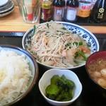 信州 ゴールデン 新館 - ソーメンチャンプル定食