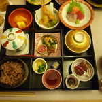 Nihonryourifuji - ¥3,500 松花堂弁当