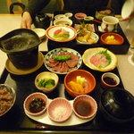 Nihonryourifuji - ¥3,000 ステーキ御膳