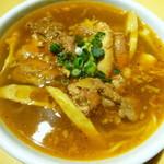 外苑飯店 - 牛バラ麺