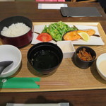 ごはんcafe両子の庄  - お魚サービスランチ@1080円(税込み)