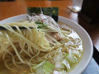 麺SAMURAI 桃太郎 - やっぱりこの麺が秀逸