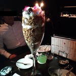 Dining&Bar Luxeee - 超特大50cmモンスターパフェ