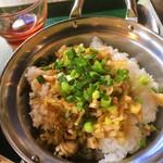 アスリート中華ダイニングYI-CHANG - ミニねぎ豚丼