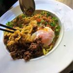 アスリート中華ダイニングYI-CHANG - 正宗担々麺=汁なしの担々麺