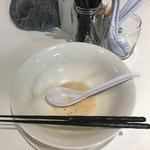 麺や 齋とう - 全部頂きました