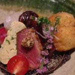 串あそびTO・IRO - 【ランチメニュー】旬菜鉢盛 900円