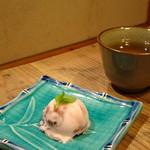 和火一 - デザート   アイスとお茶
