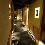 和火一 - 廊下   全室個室です。
