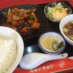 キョンキョン - 料理写真:酢豚ランチ