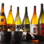 居酒屋 ごえん - 焼酎・日本酒など、種類も豊富にあります!