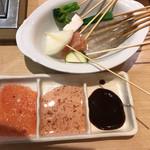 串家物語 - タレも  梅味や ブラッドオレンジ?など 珍しい物があり  種類豊富です!
