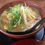 九頭馬 - 料理写真:野菜たっぷり田舎味噌ラーメン