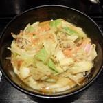 カレーうどん 千吉 - 料理写真:野菜たっぷりちゃんぽんカレーうどん