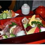 おおずし - お好みで乗っける ちらし寿司