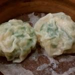 横浜大飯店 - にら餃子
