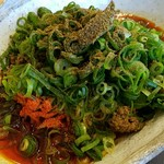 武蔵坊 - 追加で武蔵坊特製山椒をたっぷりと・・・
