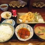 はるな - 料理写真:天ぷら定食 780円