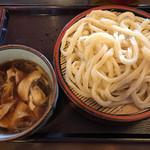 ゆでたて家 - 料理写真:肉汁うどん