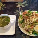 ミューズキッチン - ランチのサラダ&スープ