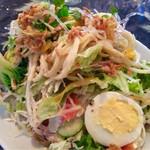 ミューズキッチン - ランチのサラダ