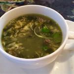 ミューズキッチン - ランチのスープ