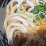 さぬき麺市場 高松中央インター林店 - 湯掻いた方が美味しいタイプだと思います。