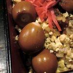 串粋 八重洲店 - 串粋 @八重洲 味付け鶉卵とそぼろ卵