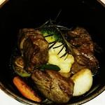 ビストロ アギャット - 羊肉と野菜のエテュベ