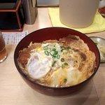 牛心 - ジャンボかつ丼(ごはん少なめ)