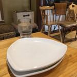 村のピザ屋 カンパーニャ - 取り皿